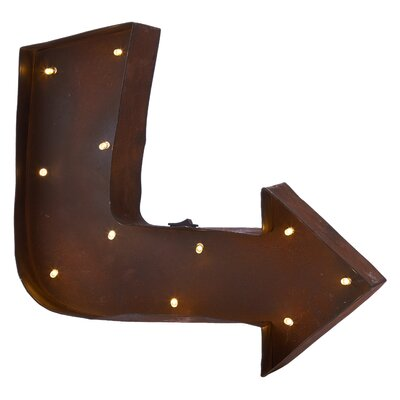 Ladeda! Living Arrow LED Light Wall Decor