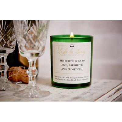 Ladeda! Living Vanilla & Sandalwood Jar Candle