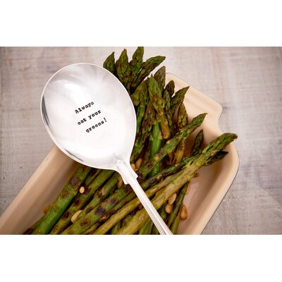 Ladeda! Living Always Eat your Greens Spoon