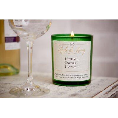 Ladeda! Living French Cedarwood Jar Candle