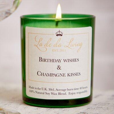 Ladeda! Living Toasted Marshmallow Votive Candle