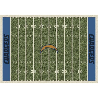 My Team by Milliken NFL Team Home Field San Diego Chargers Novelty Rug