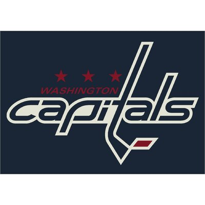 My Team by Milliken NHL Team Spirit Washington Capitals Novelty Rug
