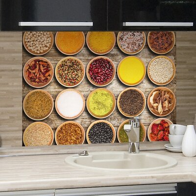 Crearreda Bella Casa Spices Wall Sticker