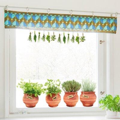 Crearreda Bella Casa Pots Window Sticker