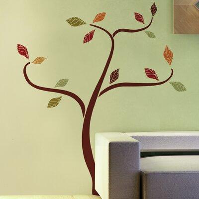 Crearreda Home Decor Line Ethnic Tree Wall Sticker