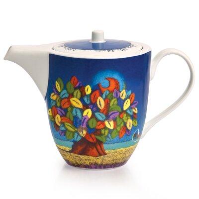 Egan 0.4L Porcelain Tree of Happiness Teapot