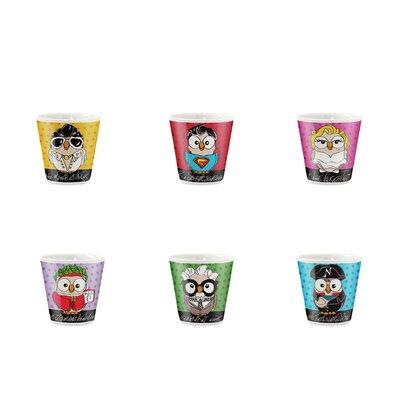 Egan 6 Piece Espresso Shot Mug Set