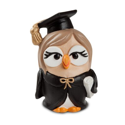 Egan Graduate Lady Goof Figurine