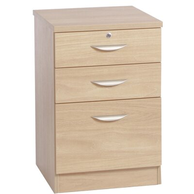 Home Office UK 3-Drawer Filing Cabinet