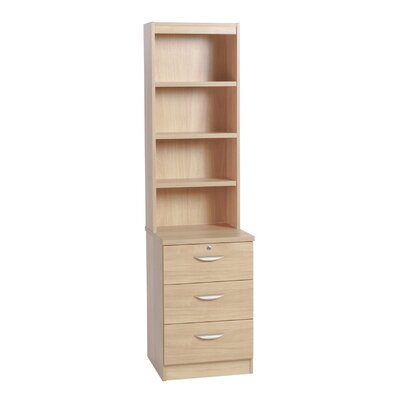 Home Office UK 3-Drawer CD/ DVD Storage Unit with Hutch