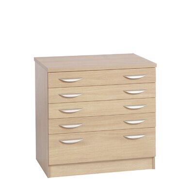 Home Office UK 5 Drawer Storage Cabinet