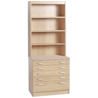 Home Office UK Storage Cabinet with Hutch