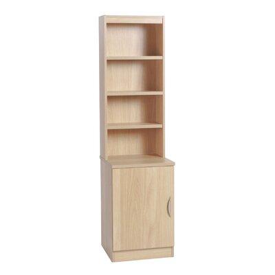 Home Office UK 1 Door Storage Cabinet with Hutch