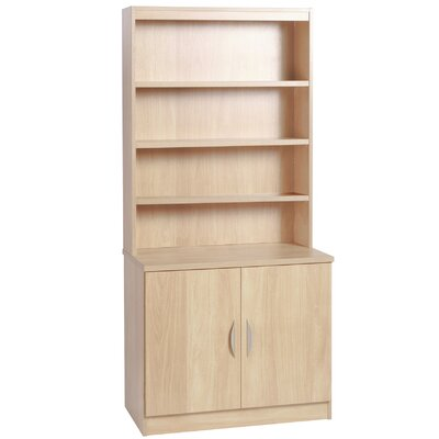 Home Office UK 2 Door Storage Cabinet with Hutch