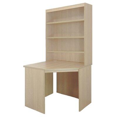 Home Office UK Corner Desk with Hutch