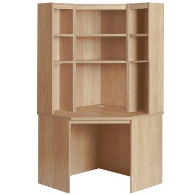 Home Office UK Corner Desk with Hutch Set