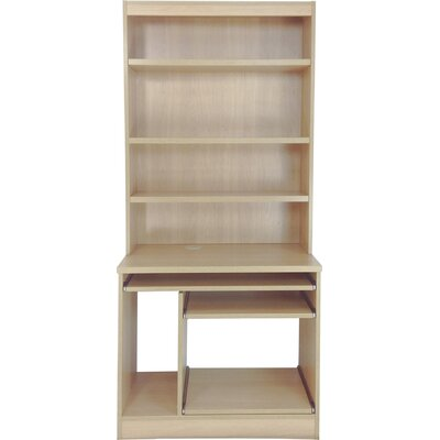 Home Office UK Computer Desk with Hutch