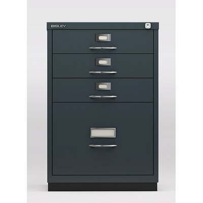 Bisley Direct 4-Drawer Retail Filing Cabinet