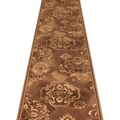 Carpet Runners UK Pallas Brown Area Rug