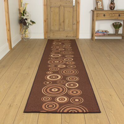 Carpet Runners UK La Rambla Brown Area Rug