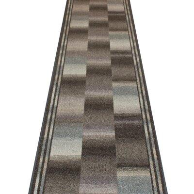 Carpet Runners UK Ikat Graphite Area Rug