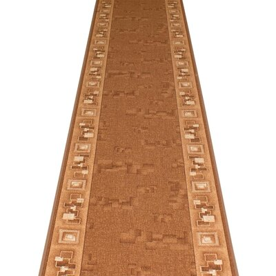 Carpet Runners UK Corona Brown Area Rug