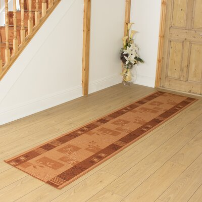 Carpet Runners UK Agadir Terracotta Area Rug