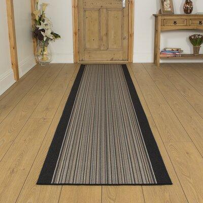 Carpet Runners UK Carnaby Graphite Area Rug