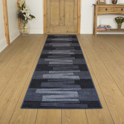 Carpet Runners UK Via Veneto Graphite Area Rug