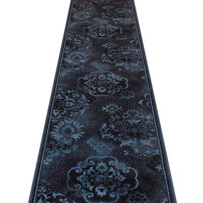 Carpet Runners UK Pallas Blue Area Rug
