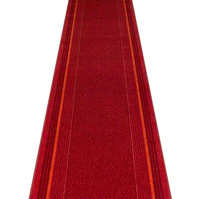 Carpet Runners UK Jura Red Area Rug