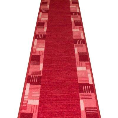 Carpet Runners UK Montana Red Area Rug