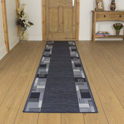 Carpet Runners UK Montana Mightnight Blue Area Rug
