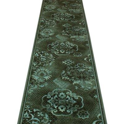 Carpet Runners UK Pallas Green Area Rug