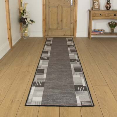 Carpet Runners UK Montana Graphite Area Rug