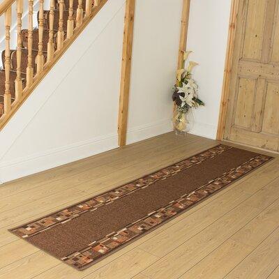 Carpet Runners UK Bombay Dark Brown Area Rug
