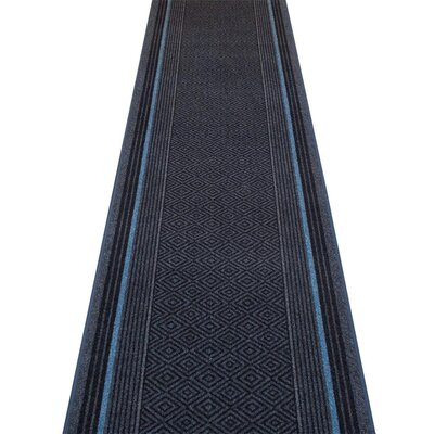Carpet Runners UK Jura Blue Area Rug