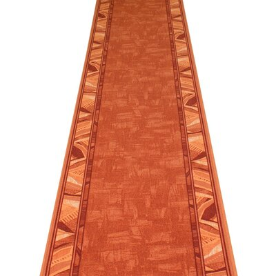 Carpet Runners UK Corrido Terracotta Area Rug