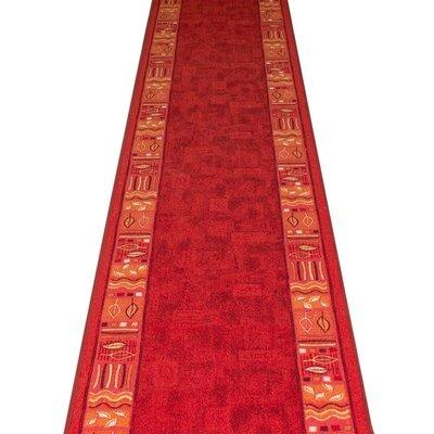 Carpet Runners UK Ramses Red Area Rug