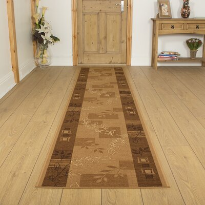 Carpet Runners UK Agadir Brown Area Rug