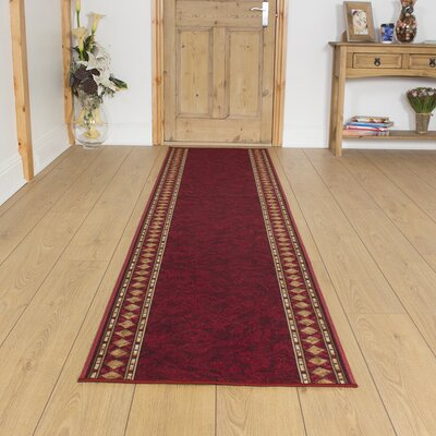 Carpet Runners UK Cheops Red Area Rug