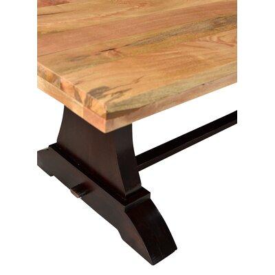 "Bonniview 6 Piece Dining Set Bench Size: 18"" H x 80"" W x 15"" D, Table top Size: 30"" H x 76"" W x 40"" D"