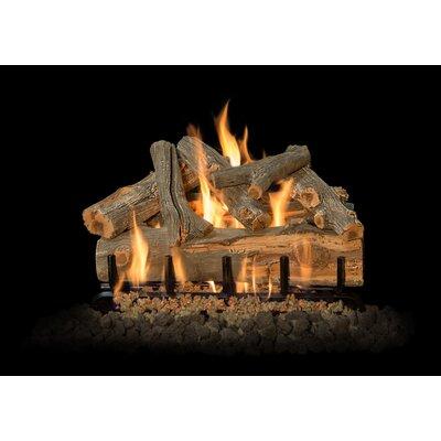 "Arizona Juniper Gas Log Set Burner Size: 24"" W"
