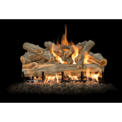 "Arizona Juniper Gas Log Set Burner Size: 30"" W"