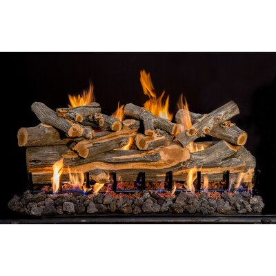 "Arizona Juniper Gas Log Set Burner Size: 42"" W"
