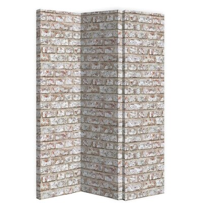 3 Panel Room Divider Color: Rustic