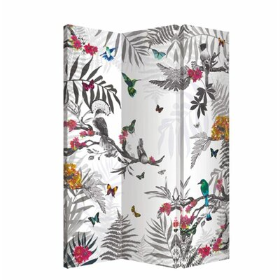Enchantment Mystical Forest 3 Panel Room Divider