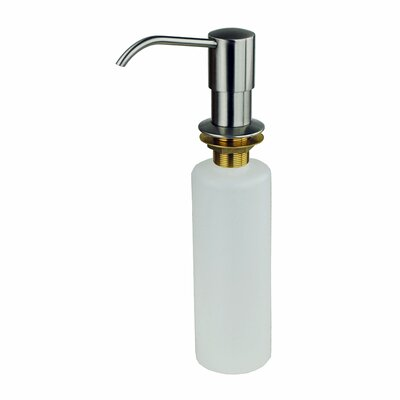 Kitchen Sink Soap & Lotion Dispenser Finish: Stainless steel