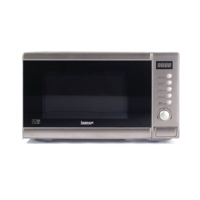 Igenix 20L Countertop Digital Solo Microwave in Stainless Steel